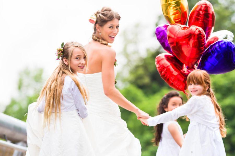 ślub wesele dzieci balony zabawa