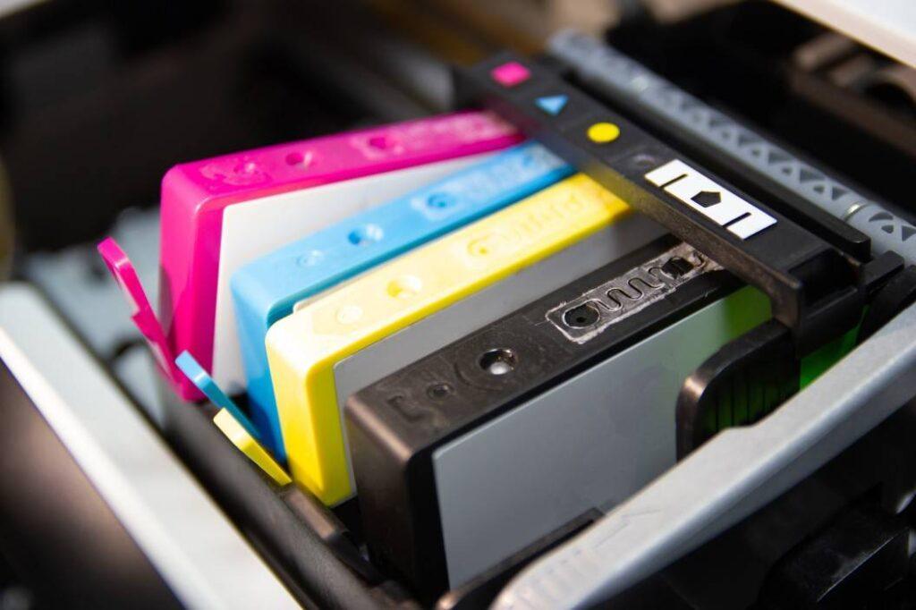 wkłady w drukarce